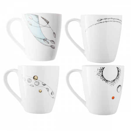Mug 330 ml Set 4-tlg. - S-Art Elements