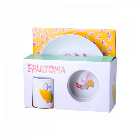Fruitopia Kinderporzellanset 3 Stk. - Kids world