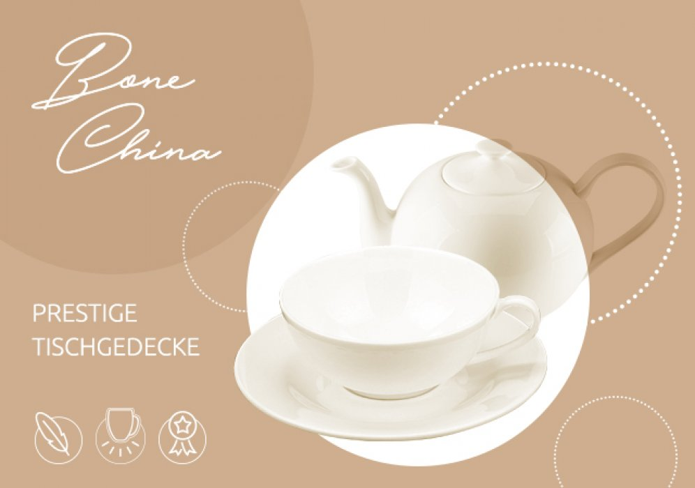 Porzellan Bone China